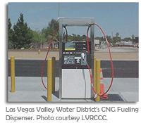 Las Vegas CNG fuel pump
