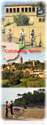 Map and photos of Catalonia